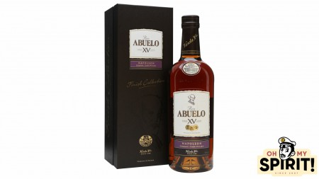ABUELO 15 ans Cognac Finish 40%