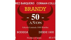 BRANDY 50 ans Perez Barquero Corman Collins 40.4%