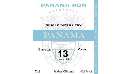 PANAMA 2004 13 ans Single Cask Corman Collins 60.4%