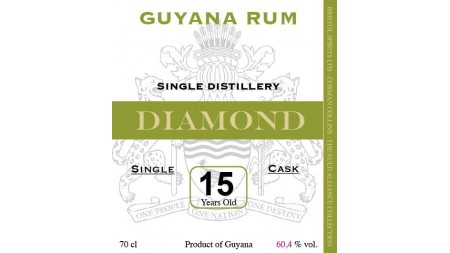DIAMOND 2003 15 ans Single Cask Corman Collins  58.3%