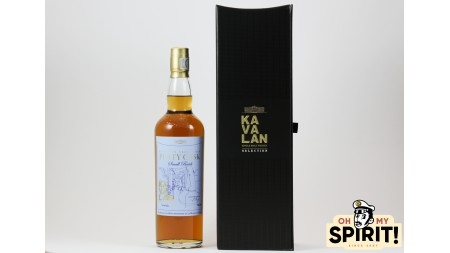 KAVALAN Peaty Cask 60 ans LMDW 52.4%