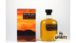 BALBLAIR 2004 Bourbon 1L 46%
